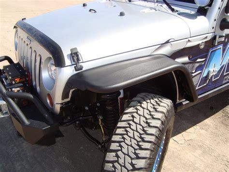 Jeep Jk Steel Fenders Press Release Mountain Road Enterprises Jk Steel