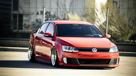 volkswagen gli slammed car volkswagen jetta tuning photo wallpaper 1920x1080