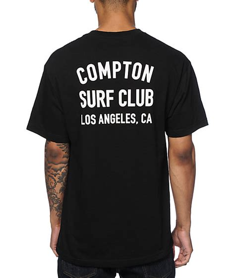 T Shirt Compton matix compton surf club pocket t shirt at zumiez pdp