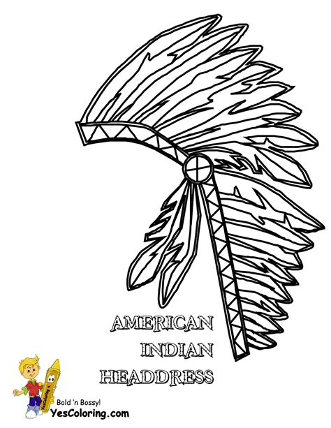 indian headdress template american headdress coloring coloring pages