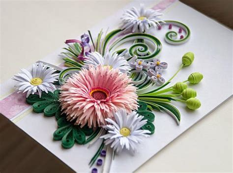 Handmade Paper Quilling - handmade paper quilling cards can be considered as a