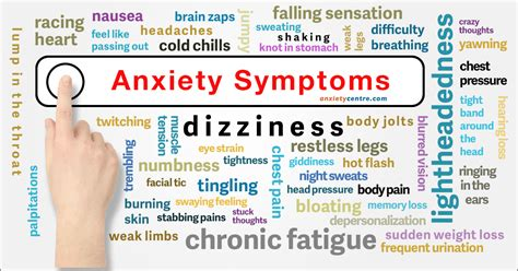 Light Headed Nausea Anxiety Symptoms Signs Treatment Anxietycentre Com