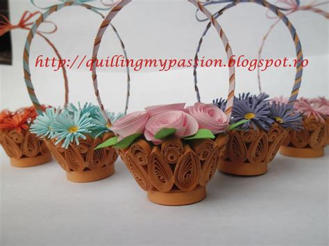 paper quilling basket tutorial quilling my passion basket with flowers