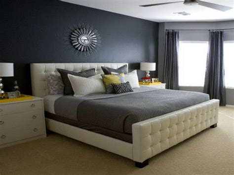 Gray Wall Bedroom Decor by Master Bedroom Shades Of Color Grey Decor