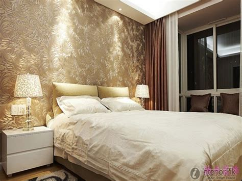 Wall Designs For Bedrooms Wallpaper Master Bedroom Master Bedroom Wall Modern Master Bedroom Wallpaper Bedroom Designs