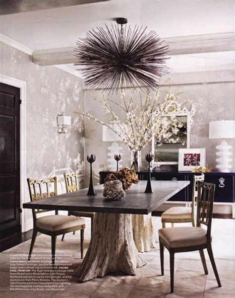 rustic modern dining room rustic and modern mix in dining room tree table base