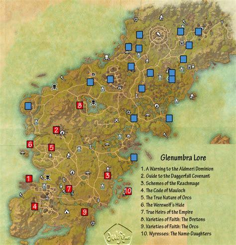 biography lore book locations eso glenumbra lorebooks guide dulfy