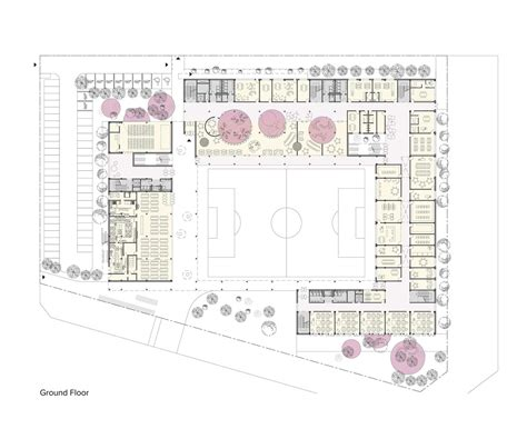 architecture school floor plan competition design for a new elementary school in siheung