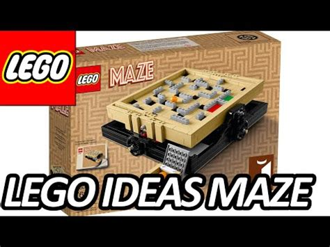 lego labyrinth tutorial full download lego ideas 21305 maze 2016 set pictures