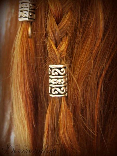 Hair Style Kit For by Dori Kit Dwarvish Beard Hair Bead Kit Tolkien Lotr Hobbit