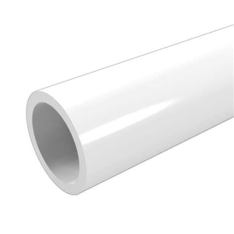 White Plumbing Pipe by 1 In Schedule 40 Furniture Grade Pvc Pipe Formufit