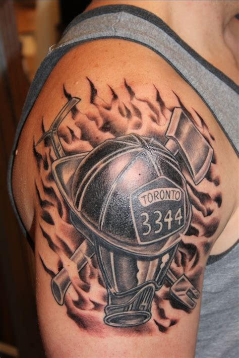 can firefighters have tattoos black design fireman pictures tattoomagz