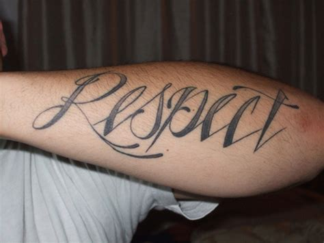 tattoo respect family 50 awesome respect tattoos