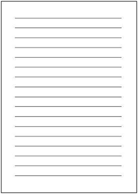 便箋(b5横書き・実線)テンプレート エクセルのひな形を無料ダウンロード