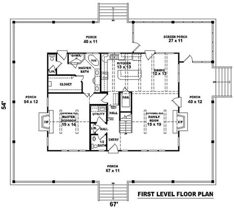 farmhouse floor plans with wrap around porch complete wrap around porch
