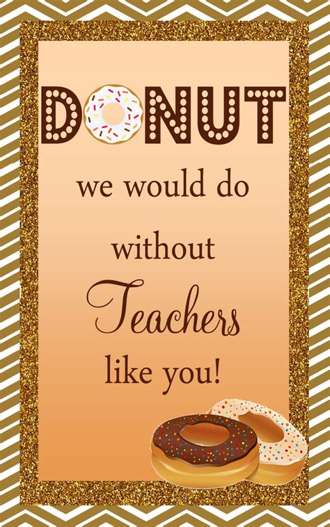 How Much Is On My Dunkin Donuts Gift Card - 7 unique teacher appreciation or holiday gift ideas freebie printables cw
