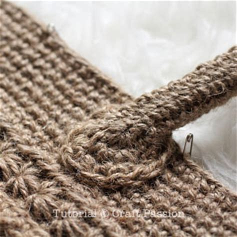 crochet jute bag pattern star stitch tote free crochet pattern bags stitches