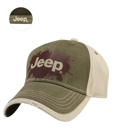 jeep hat all things jeep jeep splat logo cap