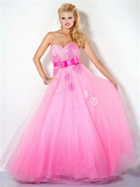 Dress Pink top 3 pink prom dresses gowns 2013 prom dresses