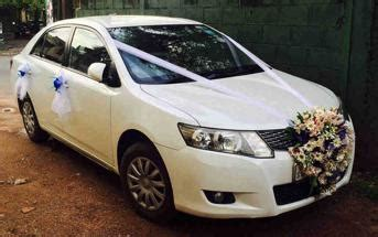 Wedding Car In Sri Lanka by Rent A Car Sri Lanka Car Rental Sri Lanka Tours