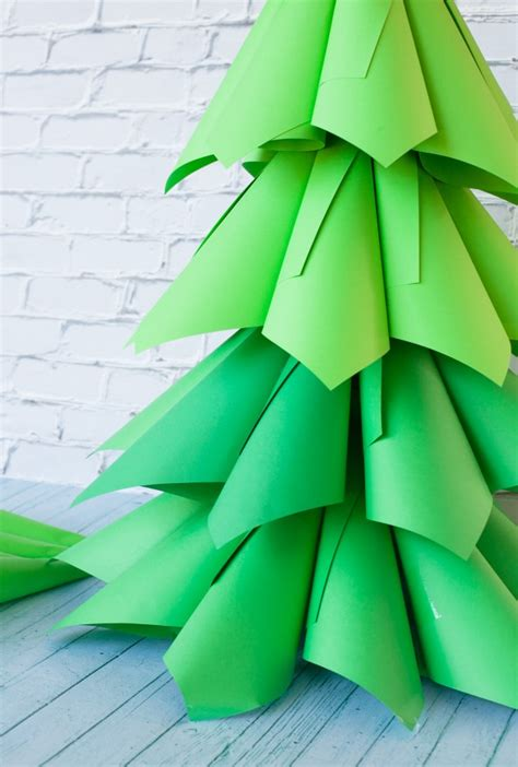 cute cone shaped christmas trees shelterness