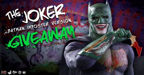 figure giveaway spooktacular the joker figure giveaway sideshow collectibles