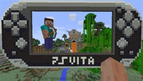 minecraft ps vita mods ps vita用ソフト minecraft playstation vita edition が2014年10月