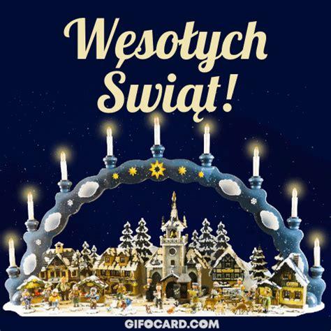 polish merry christmas gif ecards   click  send