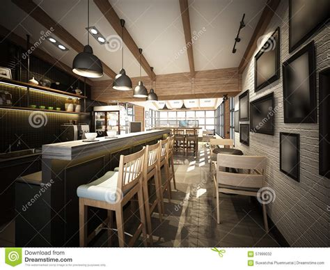 Home Design Exterior App by 3d Render Of Coffee Shop 3dwire Frame Render Stock