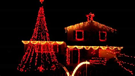 Virginia Beach House S Holiday Lights Synced To Music Lights Synced To
