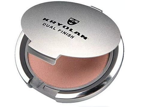 Kryolan Compact Powder Dual Finish top 12 best compact powders for skin in india