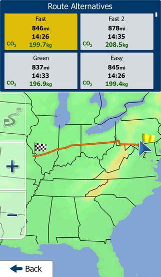 america map for igo america igo primo app on the app store on itunes