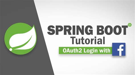 spring tutorial youtube kaushik spring boot tutorial oauth2 facebook login youtube