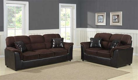 sofa set and price homelegance lombard sofa set microfiber and bi cast