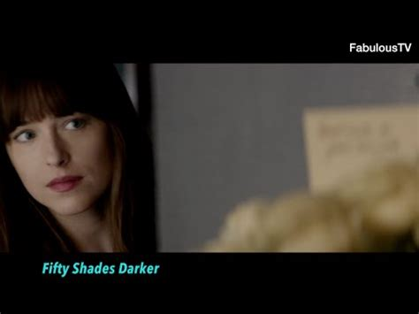 fifty shades darker film youtube first look fifty shades darker trailer on fabuloustv