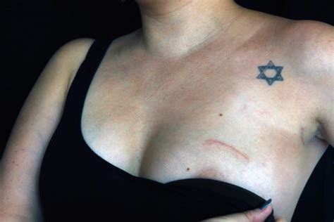 tattoo nipples for breast cancer breast cancer jews israel brca mutations tattoos