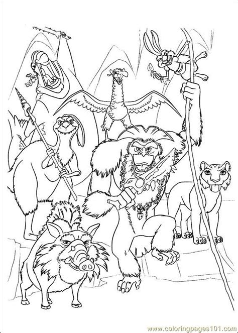 ice age coloring pages pdf coloring pages ice age continental drift 07 cartoons