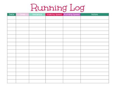 7 best images of basic workout logs printable printable half marathon training plan marathon training plans and