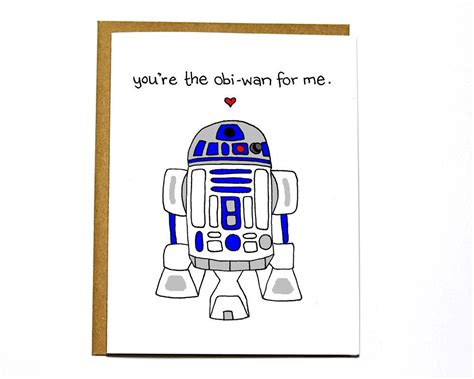 geeky valentines day card template wars r2d2 card card by