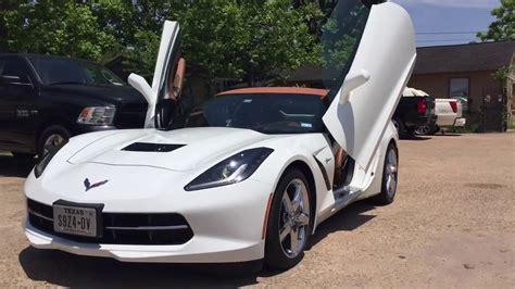 corvette vertical doors corvette with bolt on lambo doors