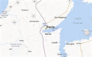 barrie weather station record historical weather for
