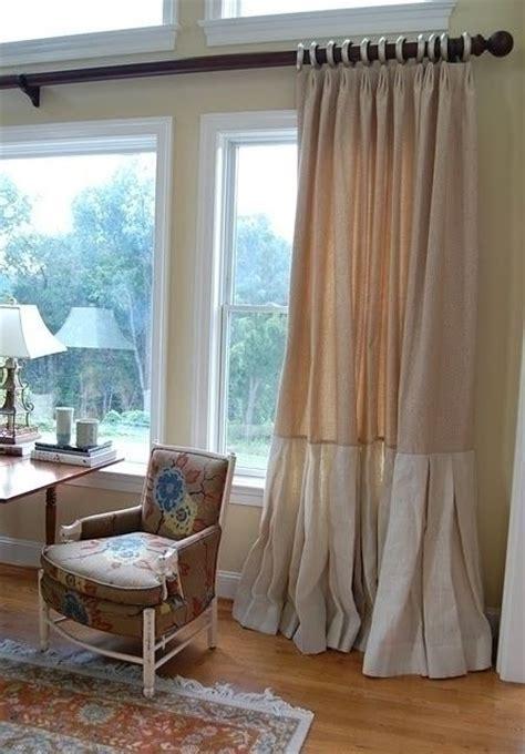 lined burlap curtain panels lined burlap curtain panels 20 images bedroom