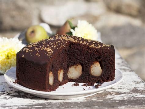 schokoladen kuchen rezept schokoladen birnen kuchen rezept eat smarter
