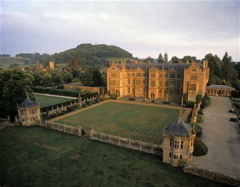 movers and shakers of montacute house national trust aerial view of montacute house in somerset montacute