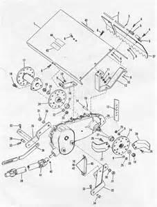 bolens tiller parts diagram images