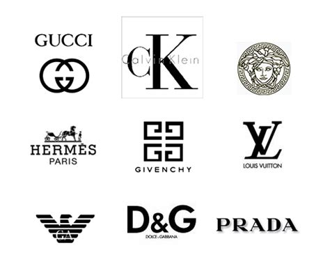 design label logo the top fashion brands in the world
