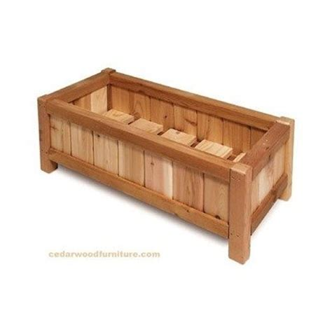 Buy Wooden Planter Box by Best Wooden Planter Boxes For Your Home Infobarrel