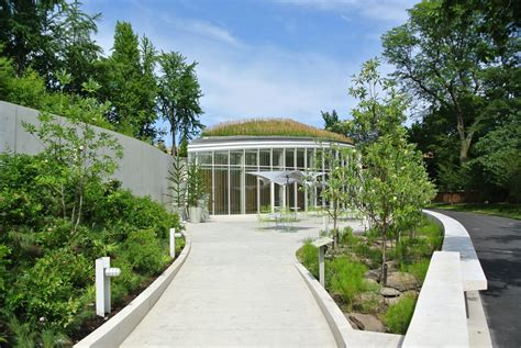 botanic garden visitor center weiss manfredi