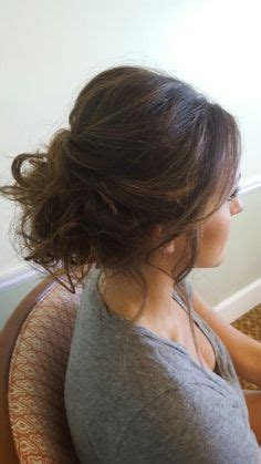 2105 evening hairstyles simple messy formal updo pinteres