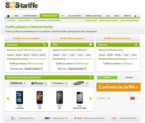 comparazione telefonia mobile sostariffe it lancia il nuovo sistema di comparazione per